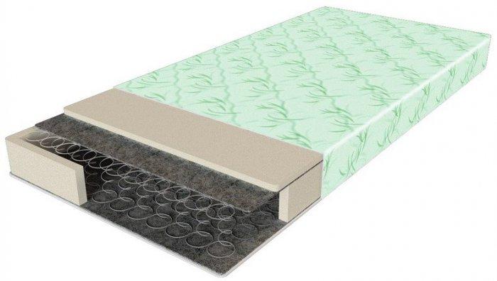Односпальный матрас Comfort 1 - 90x200 см