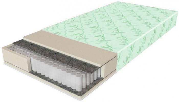 Односпальный матрас Comfort Lux - 90x200 см