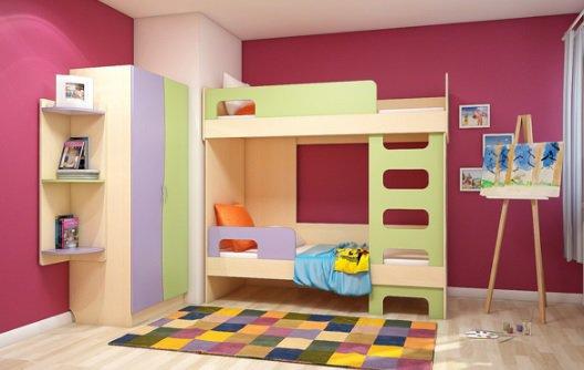 Кровать двухэтажная Меридиан