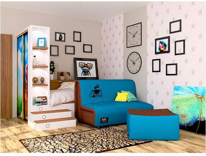 Ортопедический диван-кровать Sofyno Say Yes Хэппи 170см
