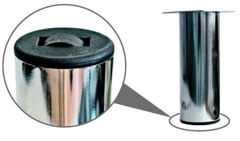 Опора металлическая MZ-1812 R хром