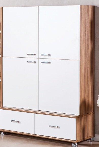 Шкаф 4-х дверный Белла