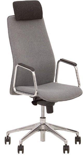 Кресло для руководителя Solo HR steel ES AL33