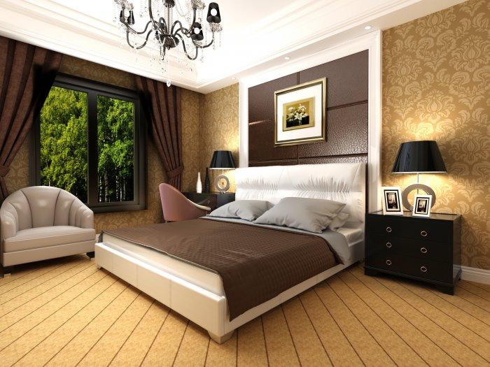 Полуторная кровать Камелия 200х140