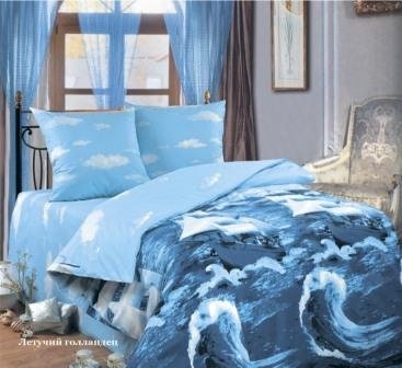 Двухспальный комплект постельного белья Летучий голандец