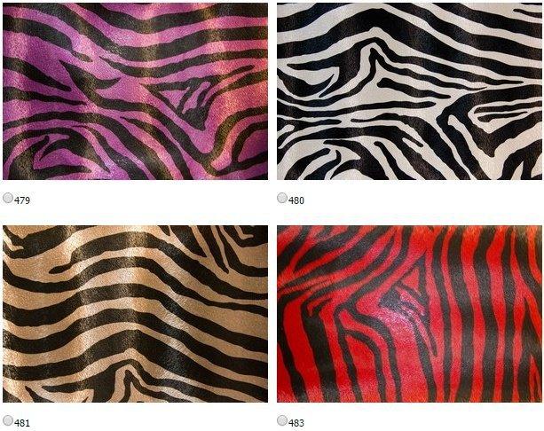 Искусственная кожа Зебра (Zebra) ширина 140см