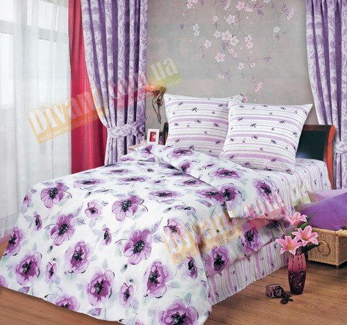 Двухспальный комплект постельного белья Равель