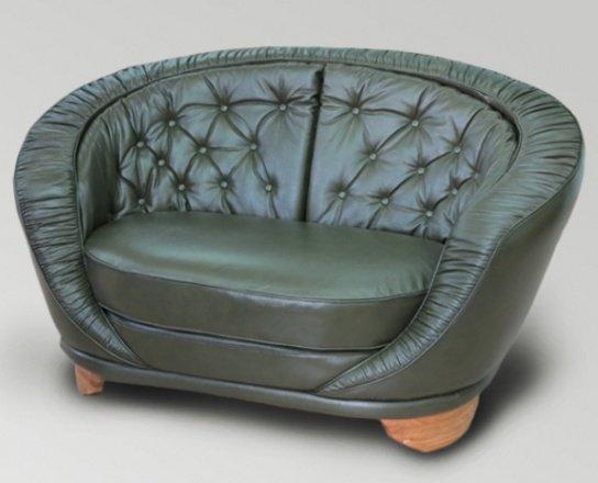 Кожаное кресло Данте