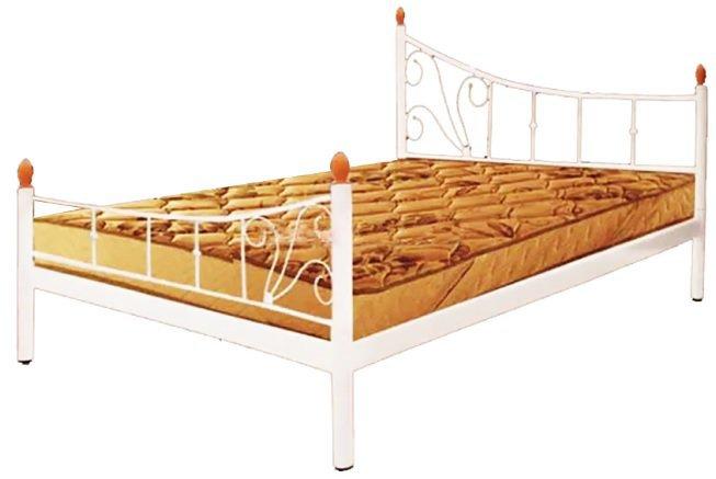 Двуспальная кровать Калипсо с быльцами - 160х190-200см