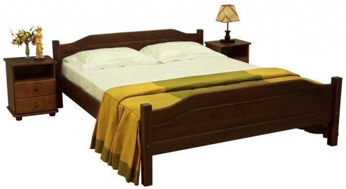 Полуторная кровать Л-201 140х200см