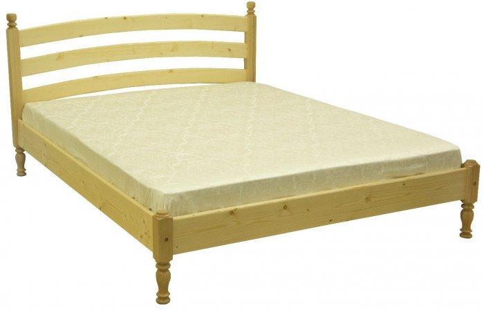 Двуспальная кровать ЛК-104 - 160х190-200см