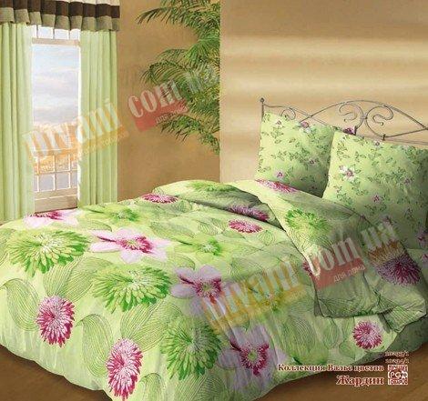 Семейный комплект постельного белья Жардин