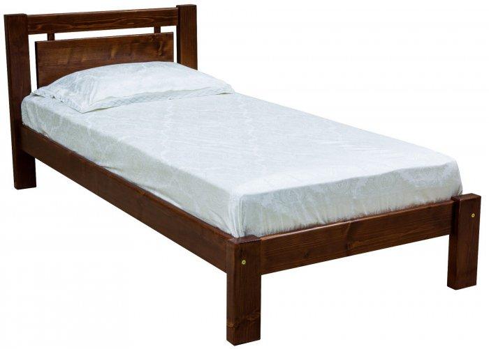 Односпальная кровать ЛК-130 - 90х190-200