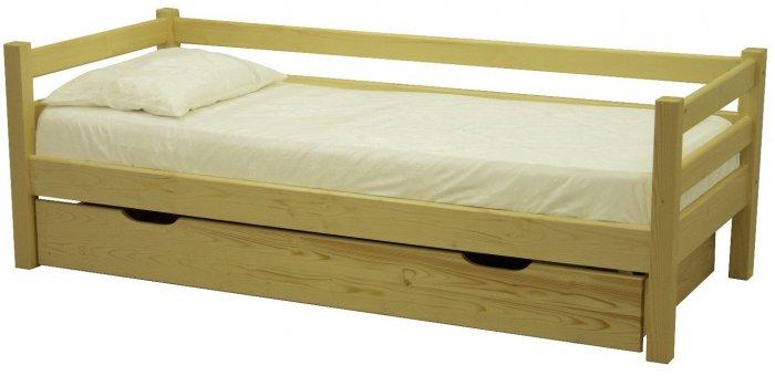Односпальная кровать ЛК-137 - 80х200