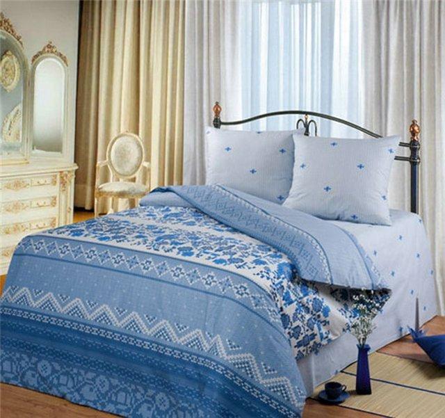 Семейный комплект постельного белья Реканте
