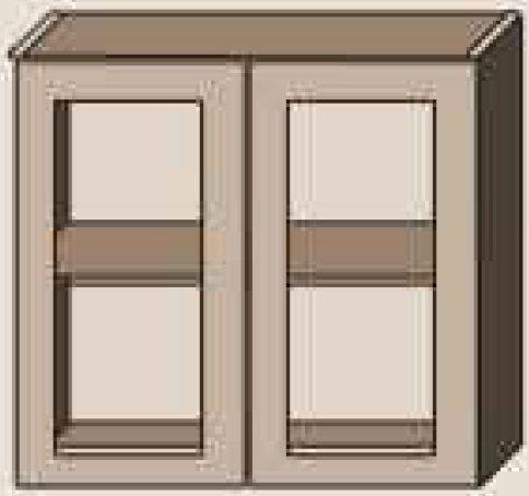 Верх 80/385 витрина София Классика шпон