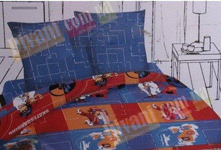 Полуторный комплект постельного белья Аниме