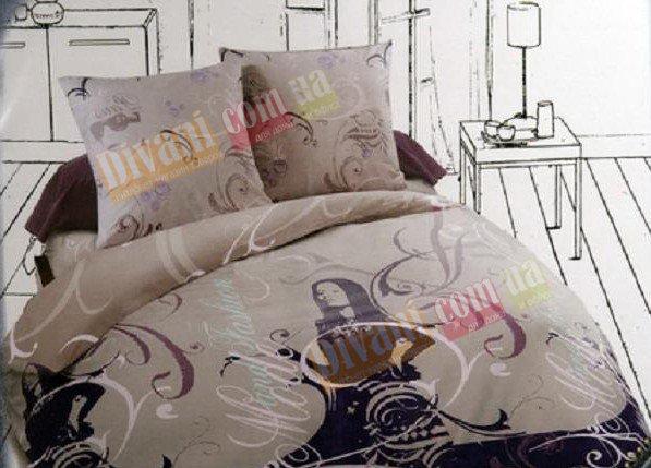 Полуторный комплект постельного белья Барбара
