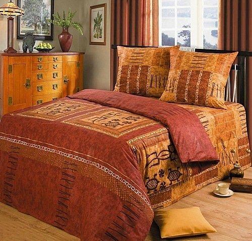 Полуторный комплект постельного белья Галапагосы
