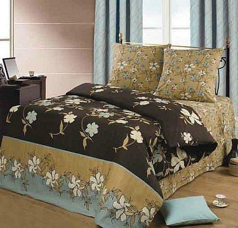 Полуторный комплект постельного белья Криолло