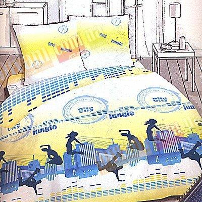 Полуторный комплект постельного белья Сити