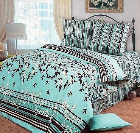Семейный комплект постельного белья Азур
