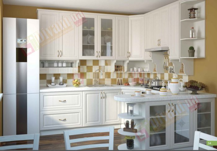 Кухня София Классика шпон