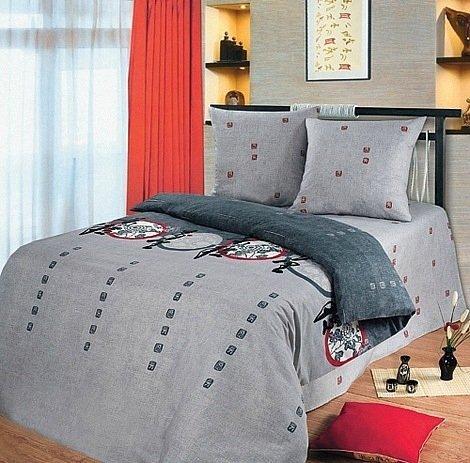 Семейный комплект постельного белья Тайко