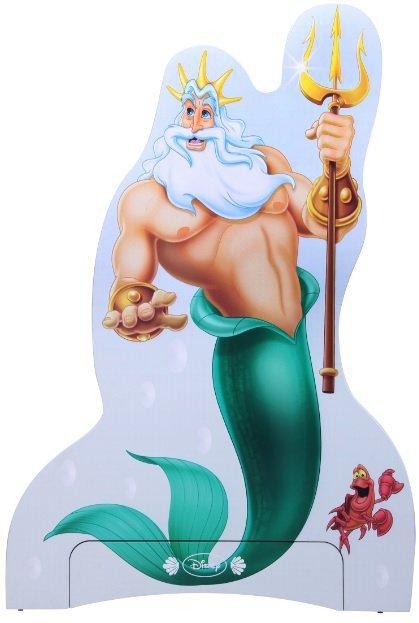 Вешалка Нептун Дизайн Русалочка Дисней
