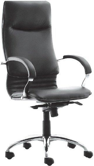 Кресло руководителя Nova chrome