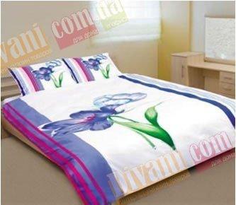 Двухспальный комплект постельного белья Сoleen -623-Ірис