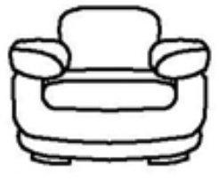Кожаное кресло Тироло