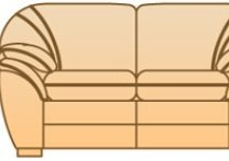 Модуль Б-2Р104вк к диван у Джессика