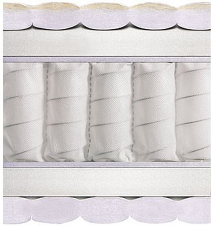 Односпальный матрас Polonina серия Pocket Spring 120x200 см