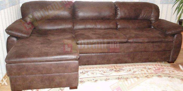Кожаный угловой диван Кентукки