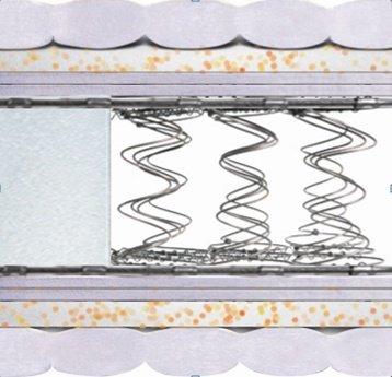 Двуспальный матрас Стандарт Экстра серия Bonnel 160x200 см
