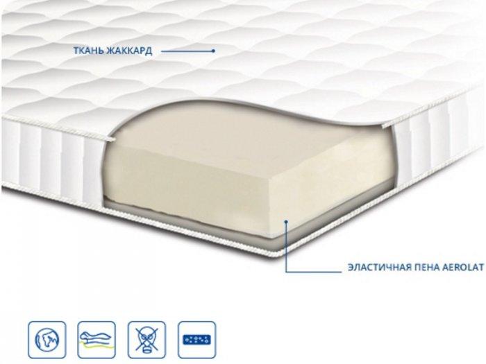 Односпальный матрас Топпер Aerolat 90x200 см