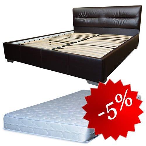 Комплект кровать Камелия + матрас Daily 2in1 160x200