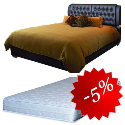 Комплект кровать Тиффани + матрас Daily 2in1 160x200