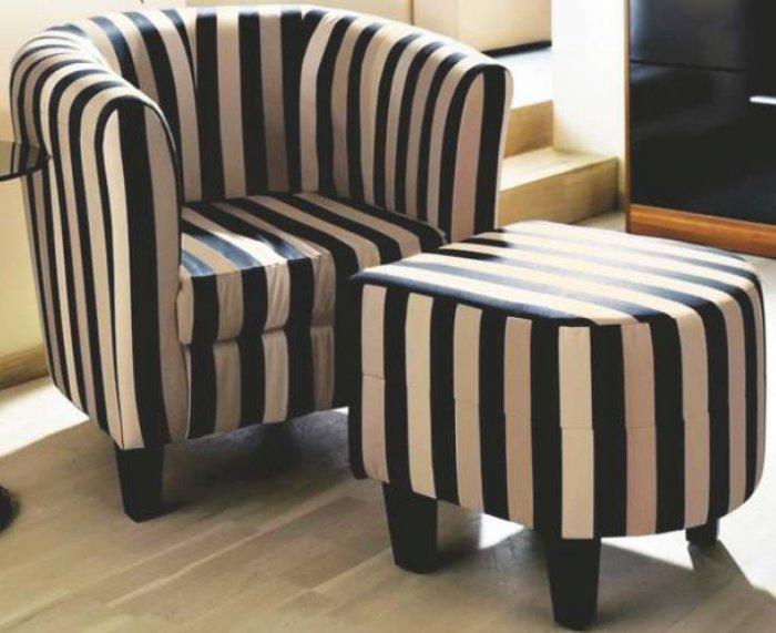 Кожаное кресло Визит