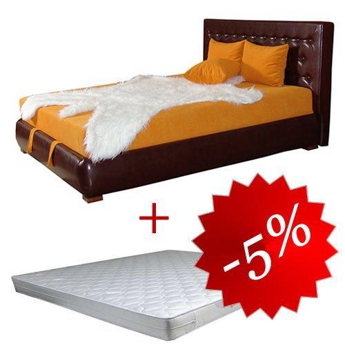 Комплект кровать Монако + матрас Daily 2in1 160х200