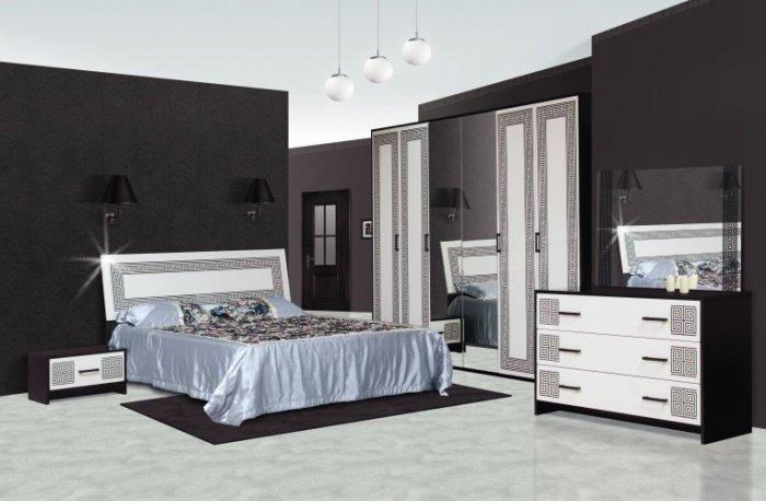 Модульная спальня Бася Олимпия с 3-х, 4-х, 6-ти дверным шкафом
