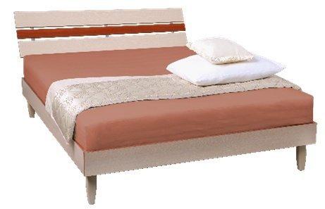 Двуспальная кровать Прагматик (ДСП)
