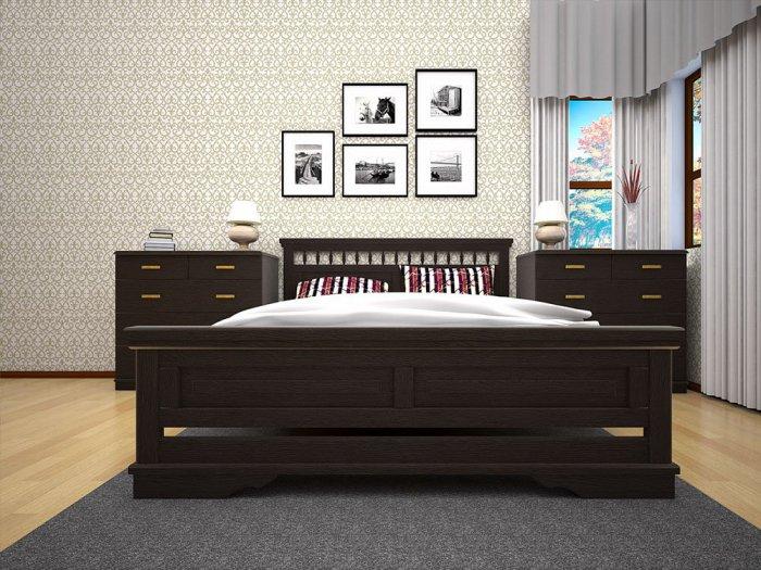 Двуспальная кровать Атлант 13 - 180см