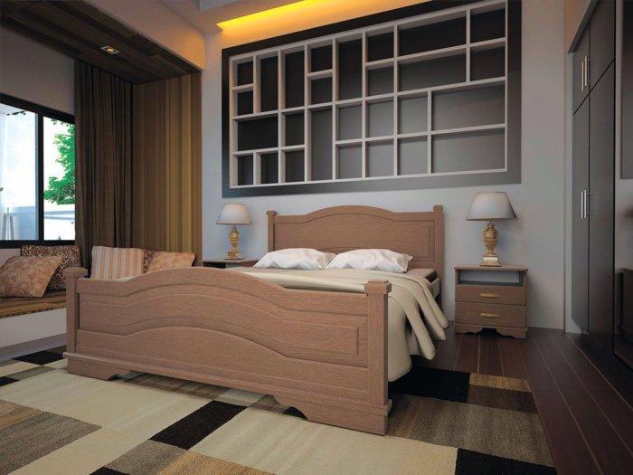 Двуспальная кровать Атлант 15 - 180см