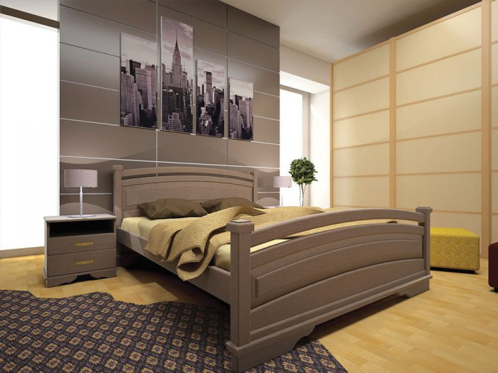 Двуспальная кровать Атлант 20 - 160см