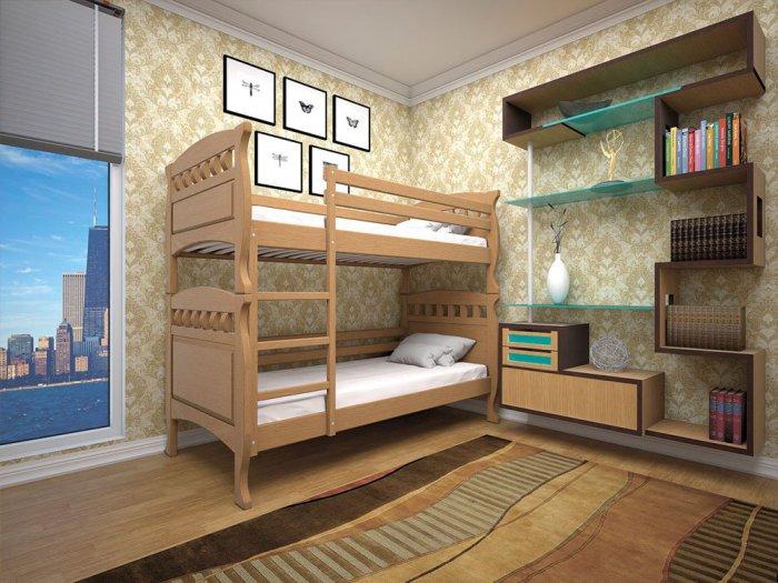 Двухъярусная кровать Трансформер 5 - 90x200см