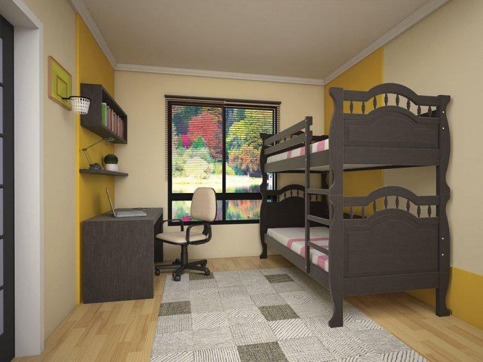 Двухъярусная кровать Трансформер 10 - 80x190см