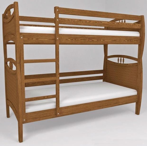 Двухъярусная кровать Трансформер 12 - 90x200см