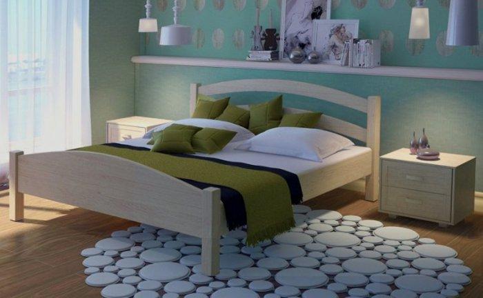 Дубовая кровать Вероника 120*200